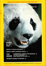 NATIONAL GEOGRAPHIC DEC 81 MT ST HELENS PANDAS CALIFORNIA COUSTEAU OCEANS HAWAII