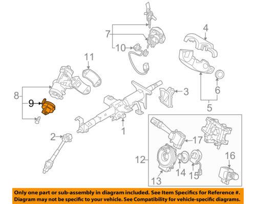 KIA OEM 05-10 Sportage-Ignition Switch 931102D000
