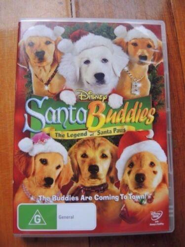 1 of 1 - Disney Santa Buddies The legend of Santa Paws (DVD, 2009)** FREE POSTAGE**