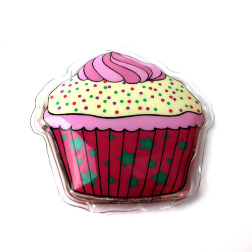 Hand Warmer Heat Winter Cute Cupcake Re Usable Novelty Pocket Travel