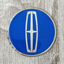Blue Lincoln Dayton Wire Wheel Chips Emblems Decals Set Of 4 Size 275in