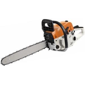 20 Gasoline Chainsaw Machine Cutting Wood 52cc 10000rmp