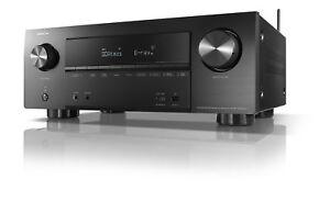 Denon AVR-X2500H 7x150W Full 4K 7.2 Ultra HD Netzwerk AV Receiver mit HEOS