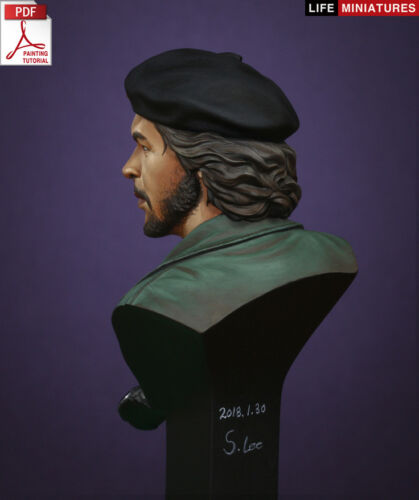 La vie M Che Guevara 1//10th buste non peinte Kit