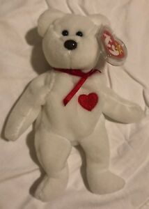 6c4cae9bf89 Extremely Rare! 1st Valentino Beanie Baby 1994 Ty Inc Style 4058 ...