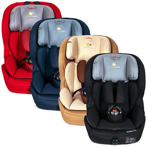 ISOFIX-Kinderkraft-Safetyfix-Kinderautositz-Autositz-Gruppe-1-2-3-Neu-9-36-kg