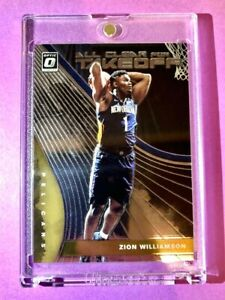 Zion-Williamson-OPTIC-ROOKIE-ALL-CLEAR-FOR-TAKEOFF-2019-20-HOT-RC-Mint