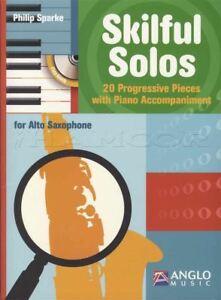 Candide Habile Solos For Alto Saxophone Sax Musique En Feuille Livre Avec Cd-afficher Le Titre D'origine