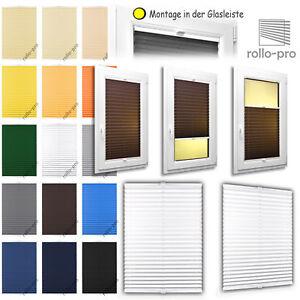 Plissé Sur Mesure Montage Simple Faltstore Faltrollo ► Bâle ► Alu-profil: Blanc-afficher Le Titre D'origine