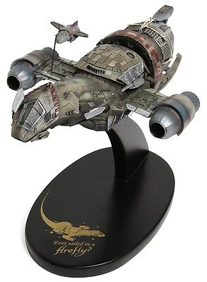 QMx FIREFLY Little Damn Heroes SERENITY Spaceship Maquette Statue LTD Ed  SHINY!