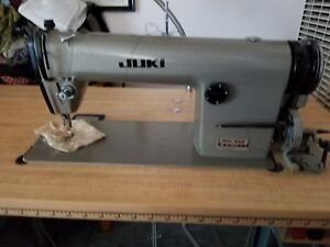 Image Is Loading Used Juki Industrial Sewing Machine DDL555 With 110