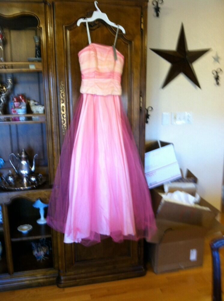 De Laru collection    pink formal dress prom gown  3 4 e8c0db