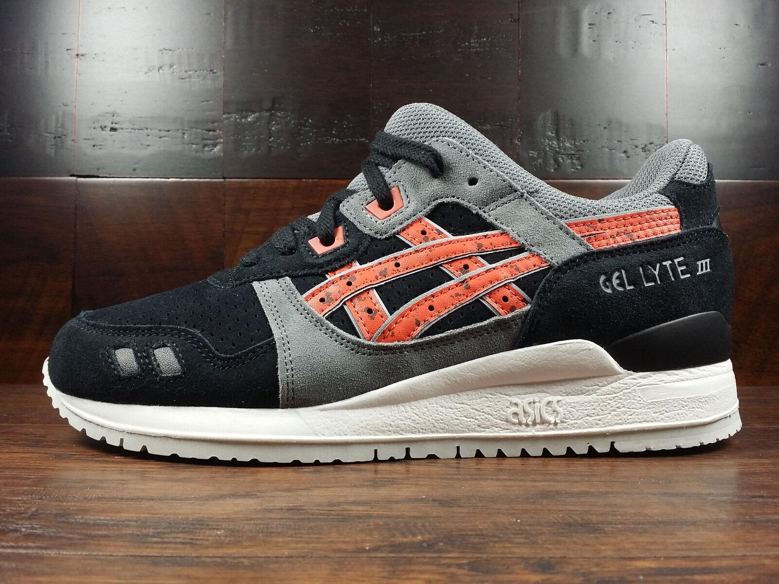 Asics GEL-LYTE 3 III (Black / Chili Red) [H6B2L-9024] Granite Pack Running Mens
