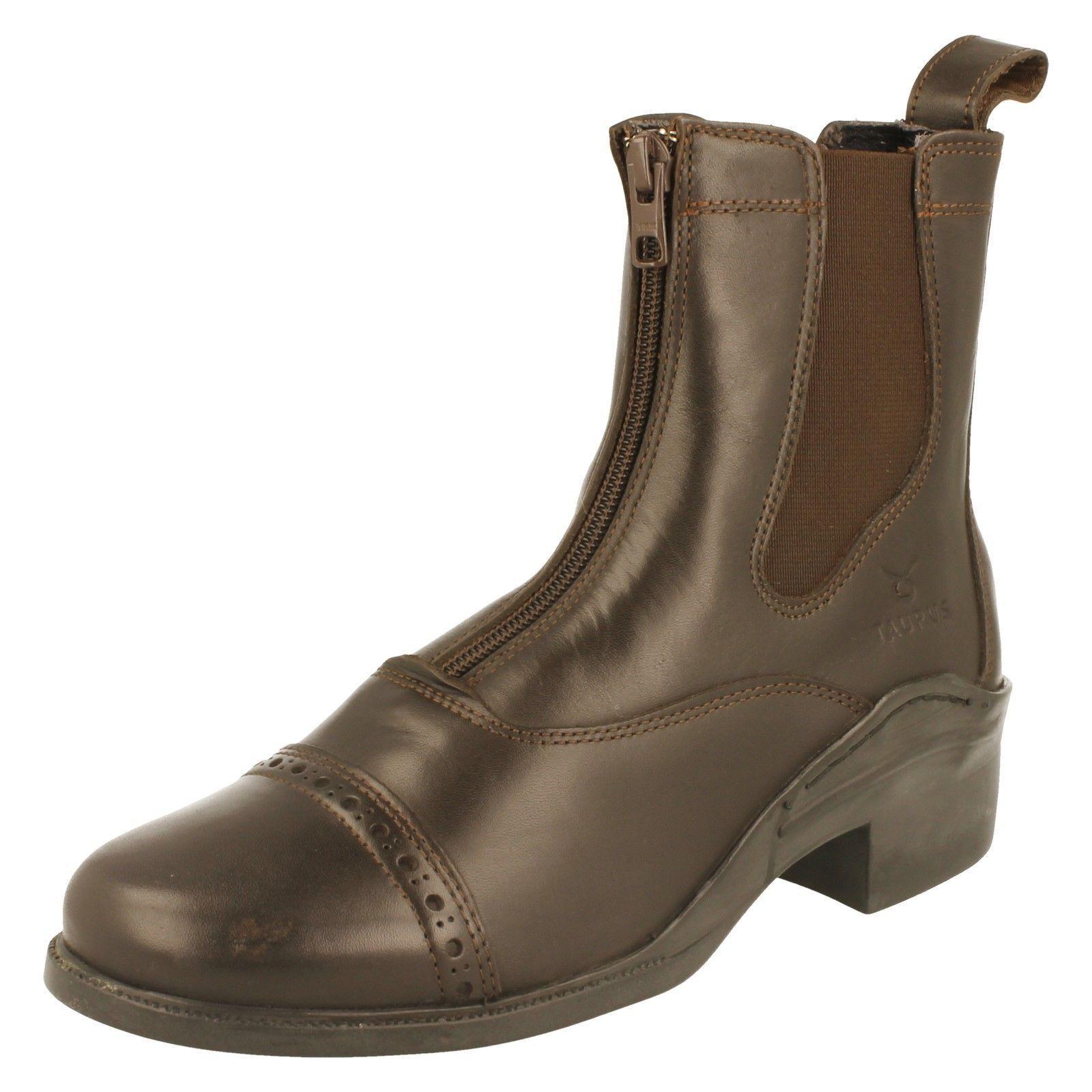 Señoras Taurus botas Jodphur-Norton UK 7 1 2 (UE (UE (UE 41) Marrón  Venta en línea de descuento de fábrica