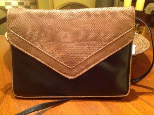 Snakeskin and leather maud frizon handbag