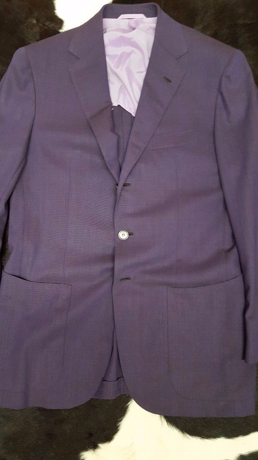 NWT 5000 SARTORIO BY KITON BLAZER 38 40 FULL CANVAS ALL HAND MADE DECONSTRUCTED