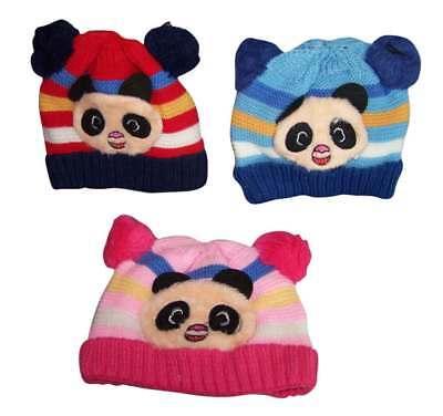 Crochet Kufis Caps Hats Beanies  For Babies Infants  Flower 6 Pc Lot Wck2043^