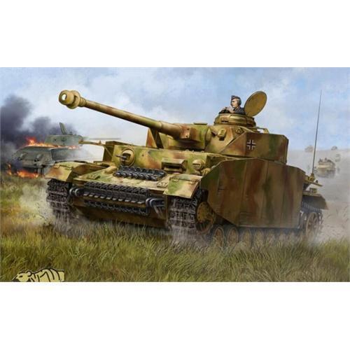 Trumpeter German Pzkpfw IV Ausf.H Medium Tank 1 16 Scale Plastic Model Kit