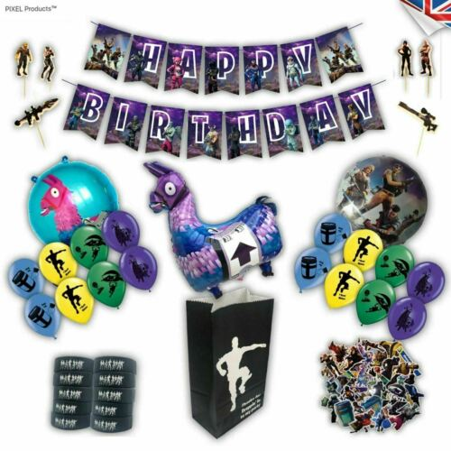 supplies decorations Loot Battle Gamer Themed Latex Party BalloonsFavours