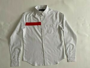 NEW Black Scale White Graphic Long Sleeve Button Up Shirt Size S