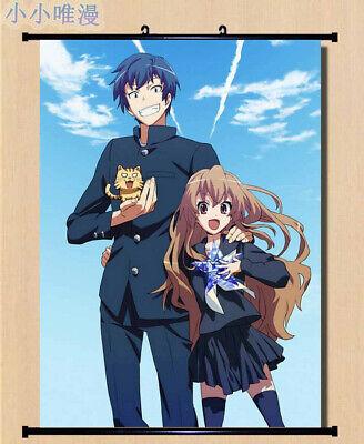 Anime TIGER×DRAGON Toradora Home Decor Wall Scroll Decorate Poster 50X70cm D258