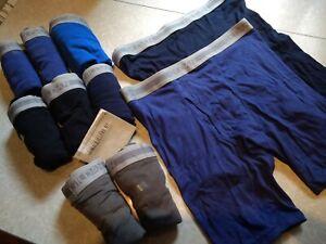 10 Pair, Gildan Men's Regular Leg Boxer Briefs Multipack  L, Large 100%  Cotton