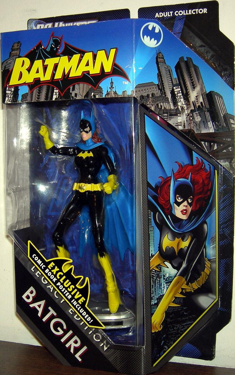 DC UNIVERSE BATuomo LEGACY edizione COLLECTION __ la Batgirl di 6 azione cifra __ NUOVO _ Nuovo di zecca IN CONFEZIONE