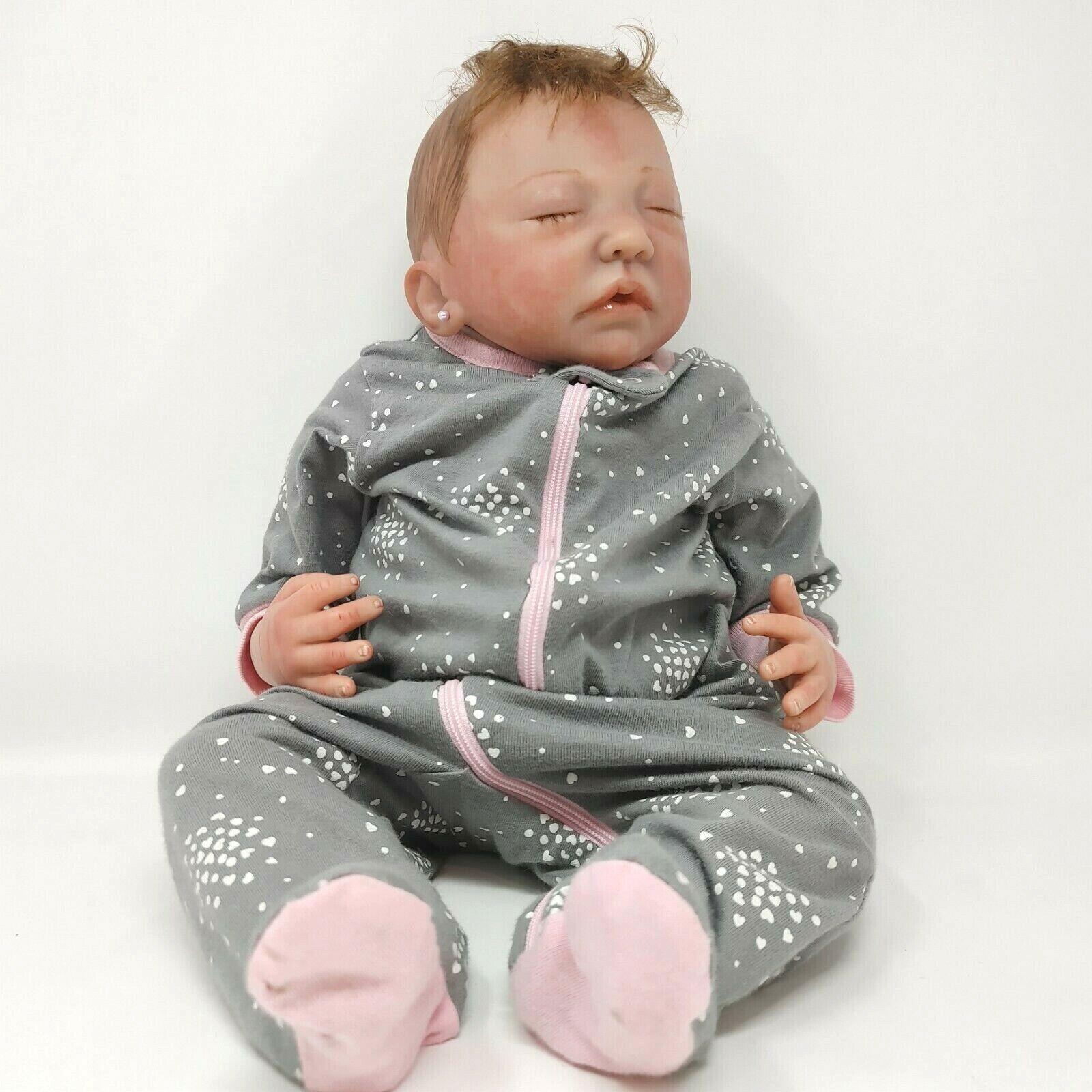 "Reborn Baby Doll - 20"" - 4lbs - Lifelike Infant - Cloth Body"