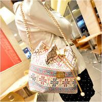 Women Korean Handbag Shoulder Bags Tote Purse Messenger Hobo Bag Fashion Chain