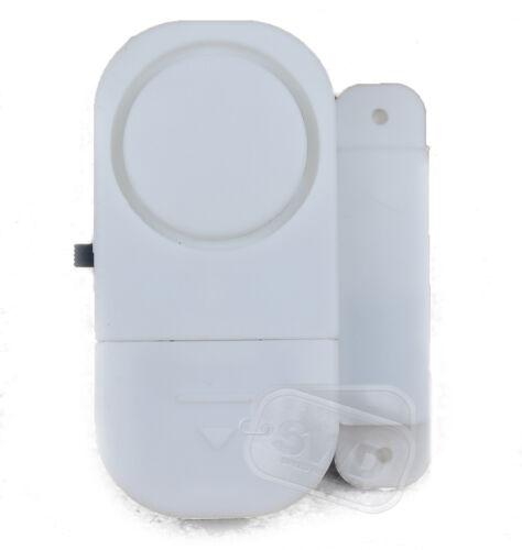 2 Stück Fenster Alarm Set Easy Fit Sicherheit Haus Schuppen Wohnwagen