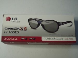 3423de4454f44 LG CINEMA 3D GLASSES - 2 PACK (  2 pairs per box) - AG-F310 -- Brand ...