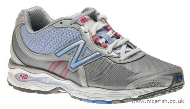 Mujer New Balance Caminar gris gris gris Azul Nailon Zapatos ww1765gp  ahorre 60% de descuento