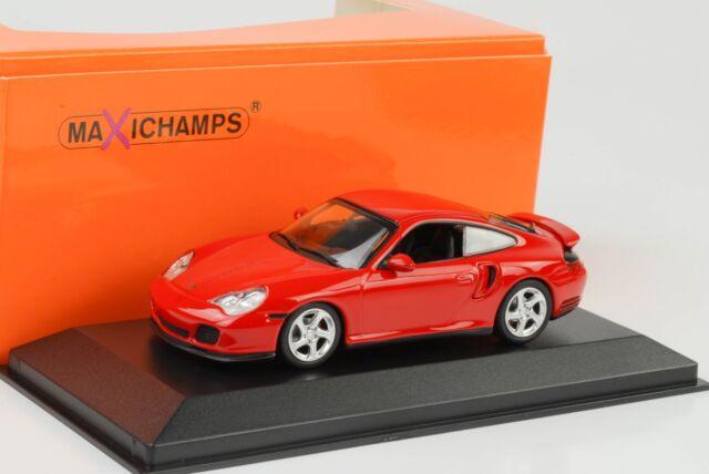 1999 Porsche 911 996 Turbo Rojo 1:43 Maxichamps/Minichamps