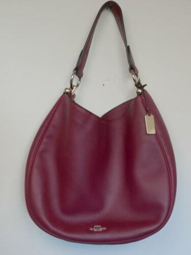 Burgundy Coach Bag