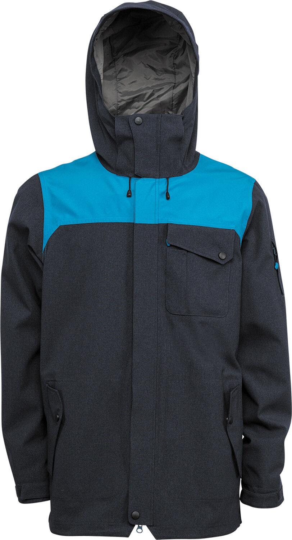 NEW Nitro Shapers 10K Blau Mens Large Ski Snowboard Jacket Coat Msrp 240