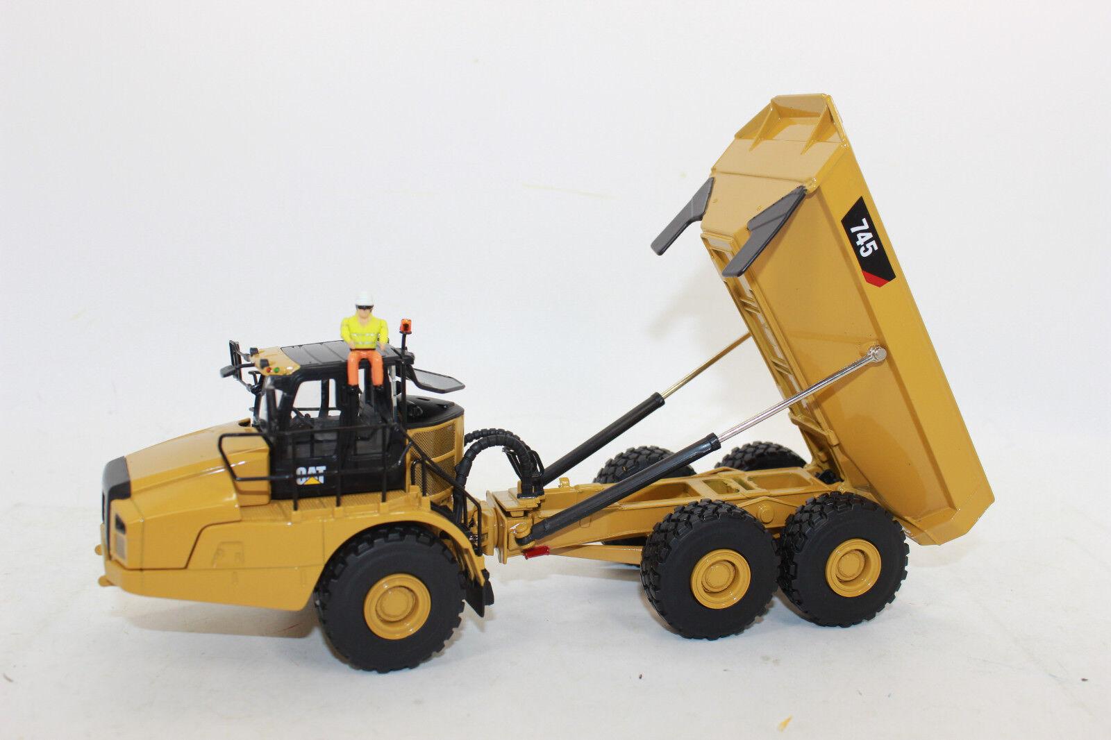 Diecast Masters 85528 Cat 745 Articulated guided Dumper Caterpillar 1 50 New in Original Box