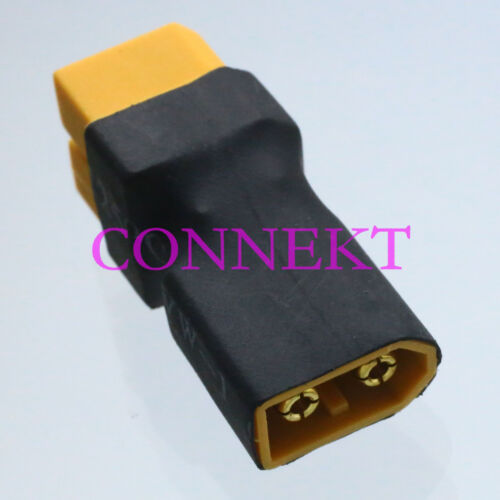 XT60 Male to 2x XT60 Female Parallel No wire adapter For RC Lipo Batteries