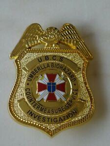 Badge umbrella corporation cosplay UBCS resident evil distintivo