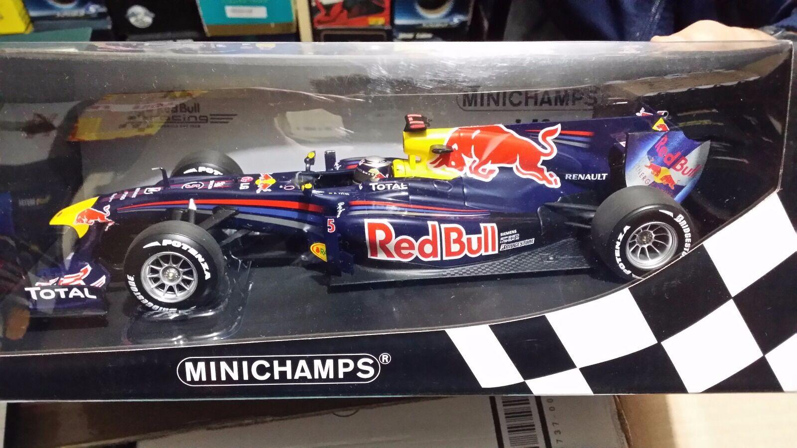 rojo Bull Rb-6 (World Champion Vettel) 2010 Minichamps 1 18