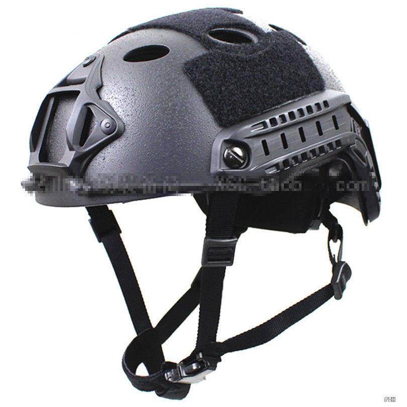 Carbon Fiber Tactical FAST PJ Style Helmet Hunting  Paratrooper New Rail Shroud  wholesale store