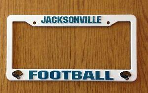 image is loading jacksonville jaguars officially licensed white license plate frame - White License Plate Frame