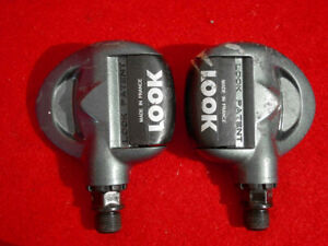 LOOK-Cyclolook-Clipless-Pedal-Pedals-Alloy-France-Used