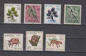 RIO-MUNI-ESPANA-ANO-1967-NUEVO-COMPLETO-MNH-SPAIN-EDIFIL-76-82
