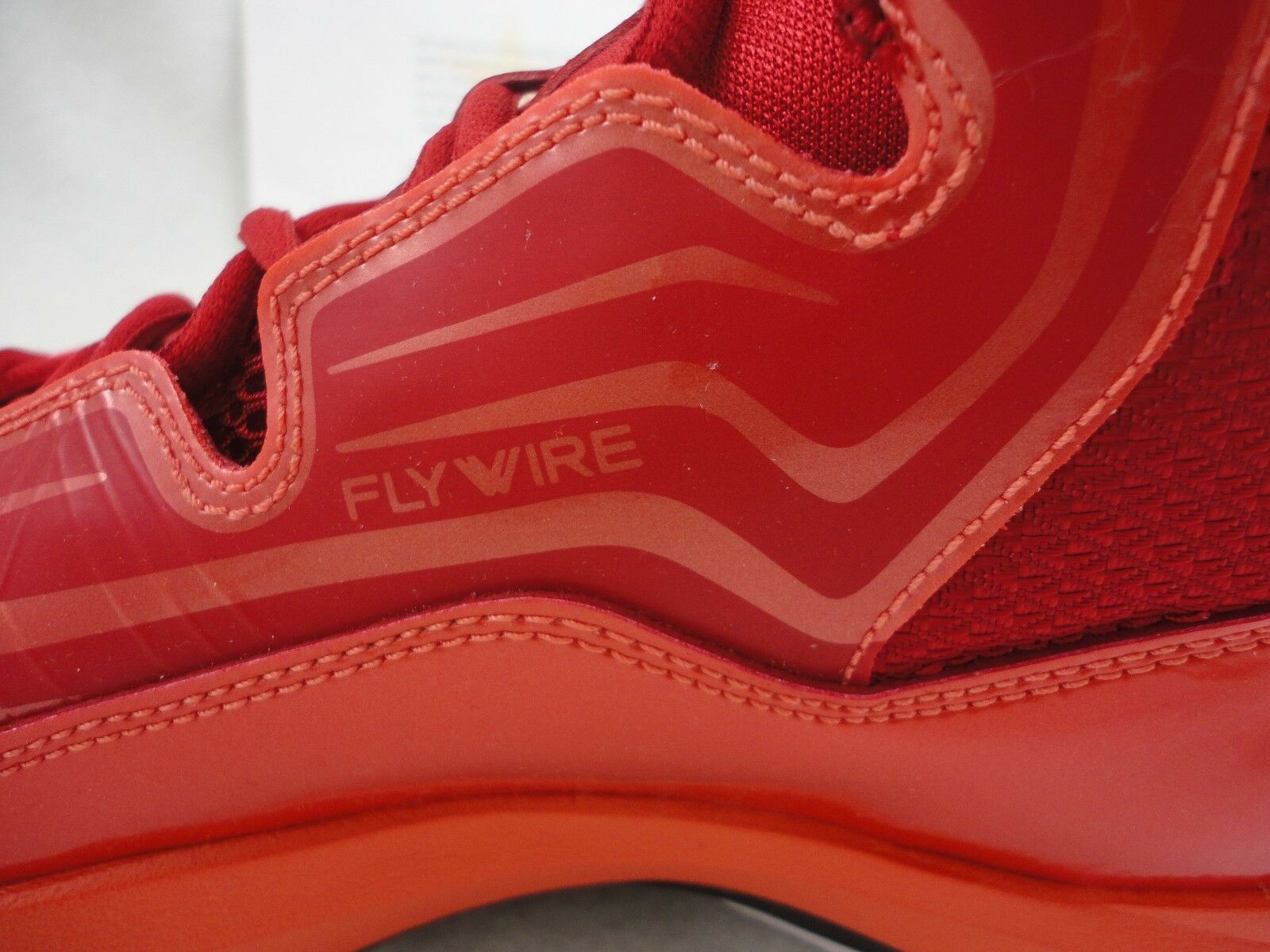 Nike Jordan Aero Mania, Size 10.5, Flywire, Light Gym Red Orange, Very Light Flywire, Weight 30a793