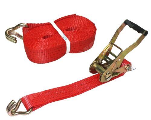 10x 2tlg presión chicharras tensora cinturones zurrgurte 5000dan 8m 5t 2500dan 50mm