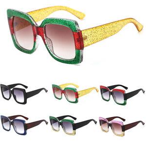 Women-Sunglasses-Oversized-Square-Gradient-Lens-Eyeglsses-NEW-Designer-Shades-AU