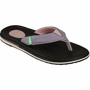 Women-039-s-Shoes-Sanuk-YOGA-MAT-3-Flip-Flop-Sandals-1099404-WOODRISE-New