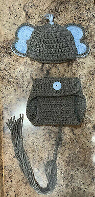Amazon.com: Coberllus Newborn Baby Photo Props Outfits Crochet ... | 400x194