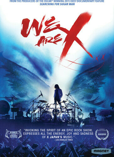 X Japan: We Are X DVD NEW