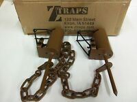 2 Z Trap Dead Grass (pull Only) Dp Dog Proof Coon Trap Trapping Raccoon